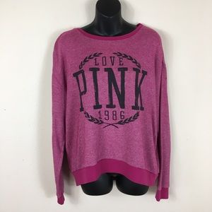 VS Pink Long Sleeve Thermal Size Medium MD